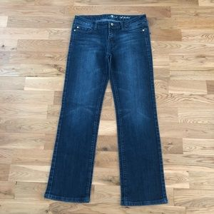 7 For All Mankind A Pocket Bootcut Denim Jeans